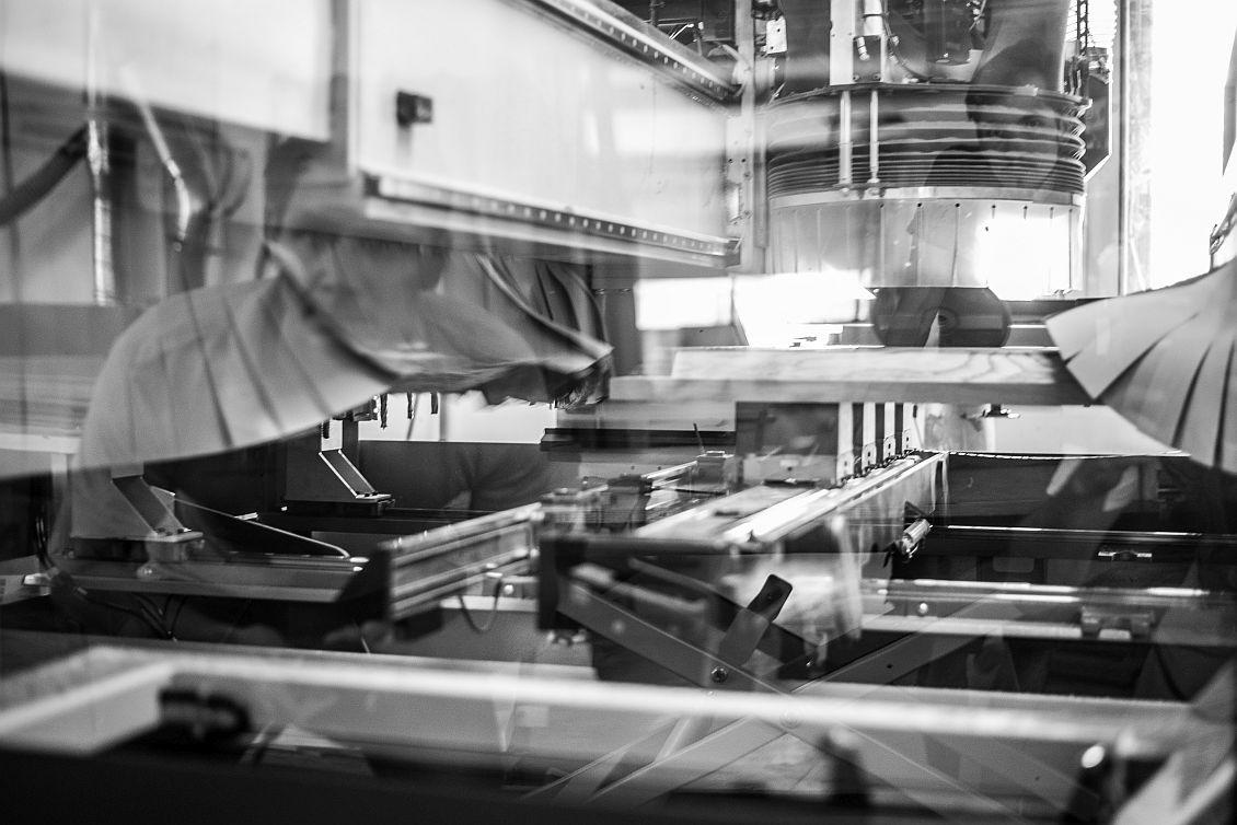 CNC Maschine für höchste Präzision.